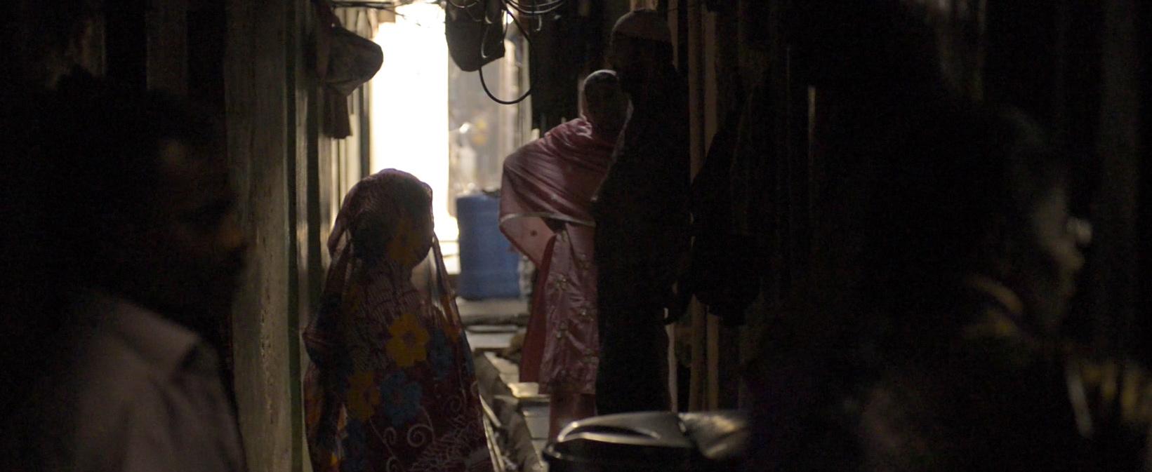 Frauen in Dharavi